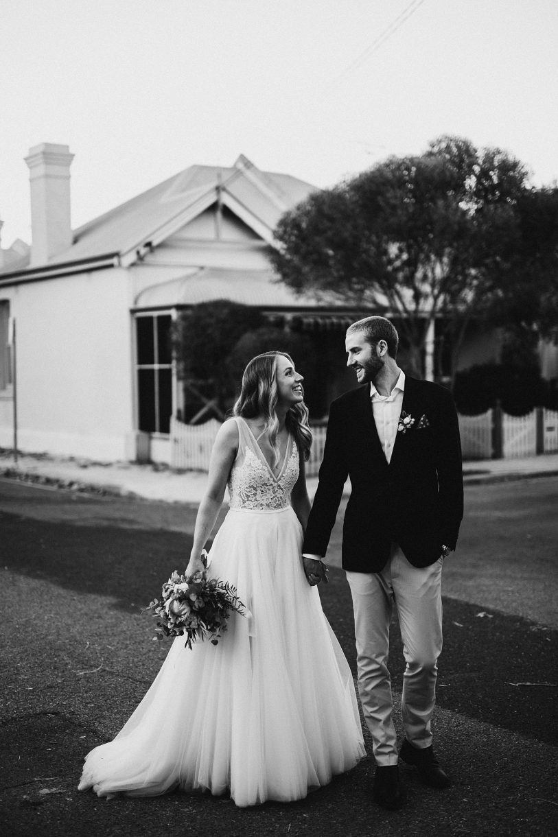 Stackwood Wedding Fremantle Bride Groom