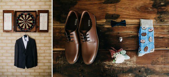 Details Wedding Photographer Suit