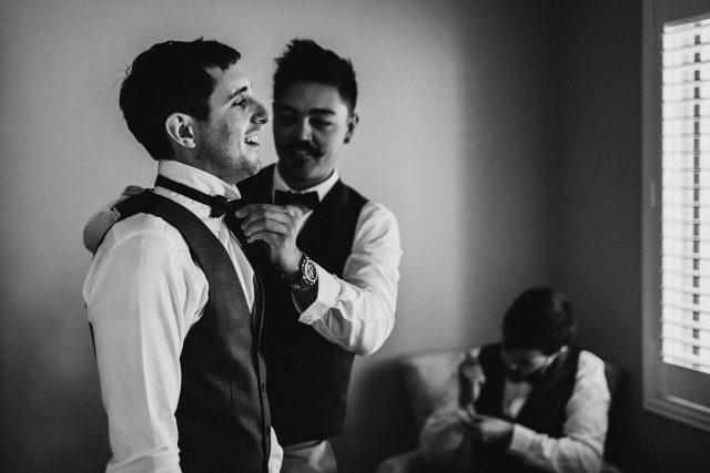 Wedding Photographer Perth Groom Documentary