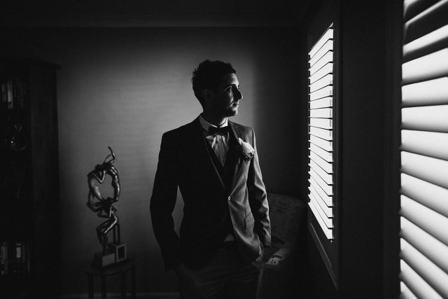 Wedding Photographer Perth Groom Prep