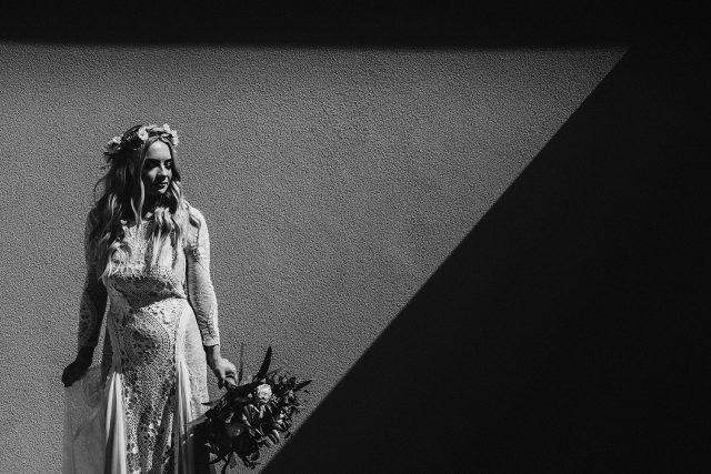 Artistic Dark Moody Graphic Wedding Photographer