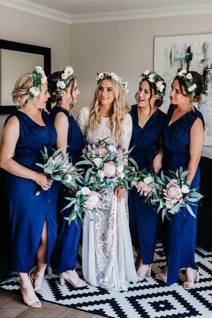 Bride Perth Wedding Grace Loves Lace Flower Crown