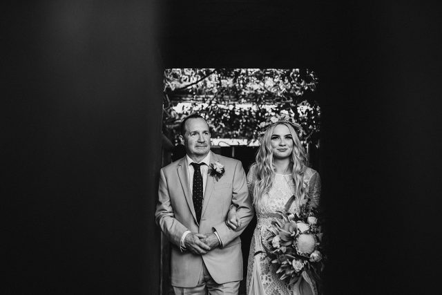 Bride Dad Aisle Wedding Ceremony Tsunami