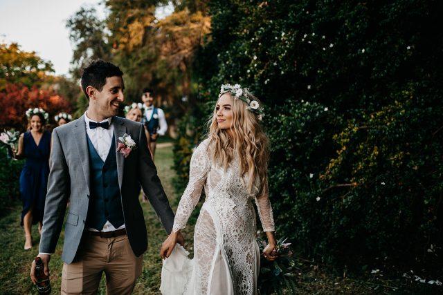 Perth Boho Bride Wedding Photographer