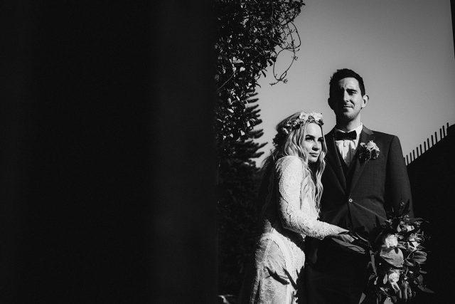 Perth Bride Groom Art Photography Black White