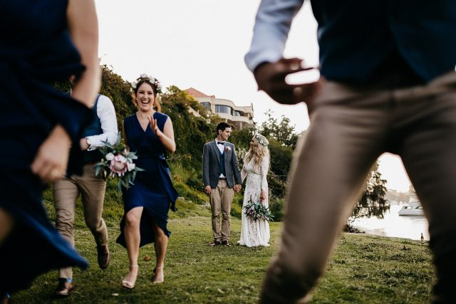 Bridal Party Greens Place Reserve Wedding Photography
