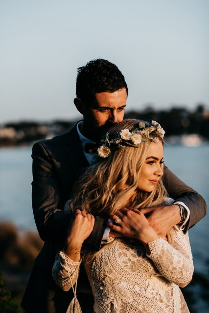 Golden Hour Perth Wedding Photography