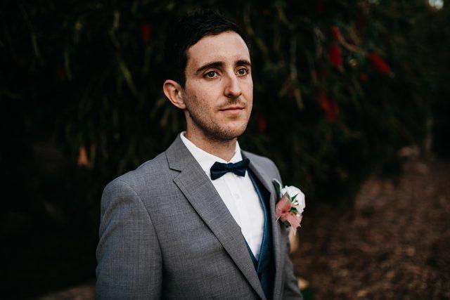 Groom Portrait Wedding Perth