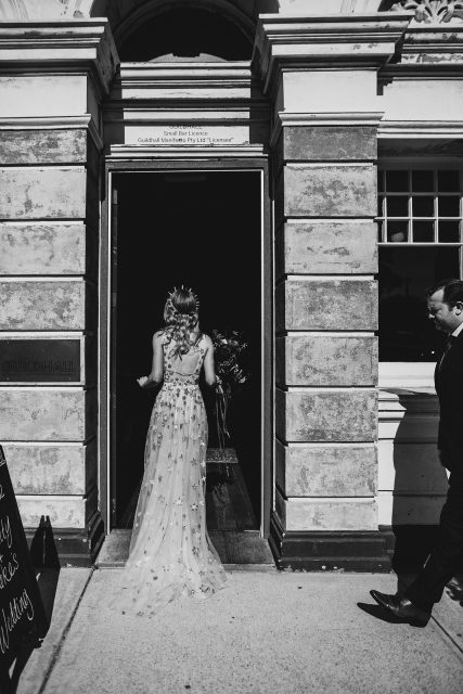 Guildhall Eventspace Bride Wedding Willow By Watters