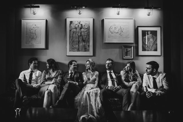 Bridal Party Guildhall Reception North Fremantle