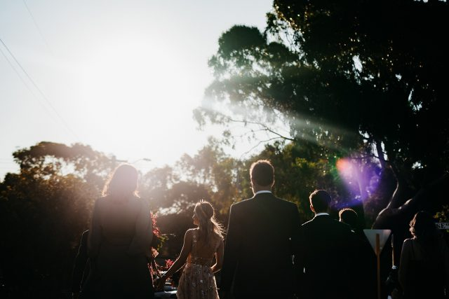 Flare Bridal Party Fremantle Wedding