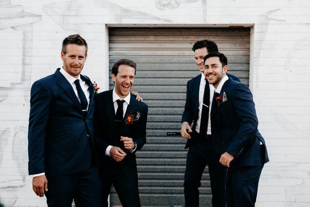 Groomen Laugh Funny Hug Men