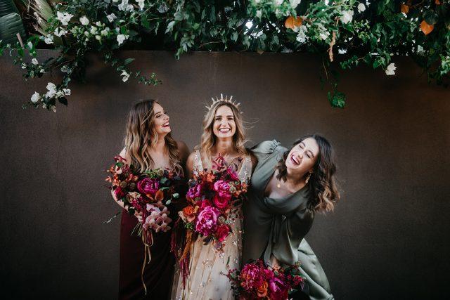 Bridesmaids Signature Floral Design Fremantle