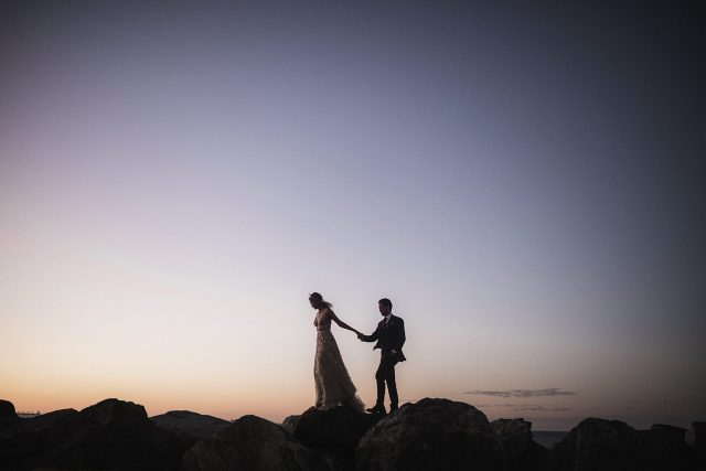 Sunset Wedding Perth Fremantle Landscape Colour Sky