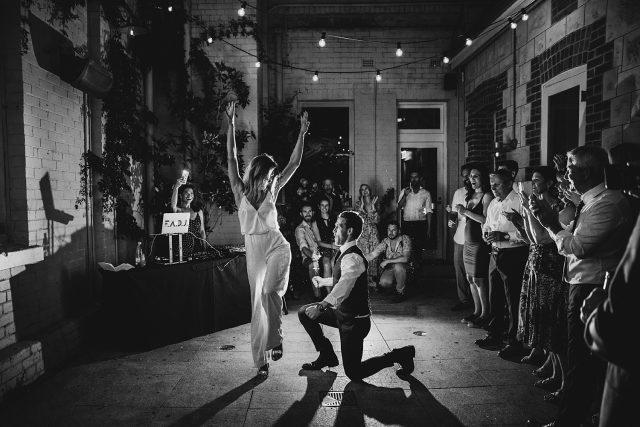 Guildhall North Fremantle Reception First Dance